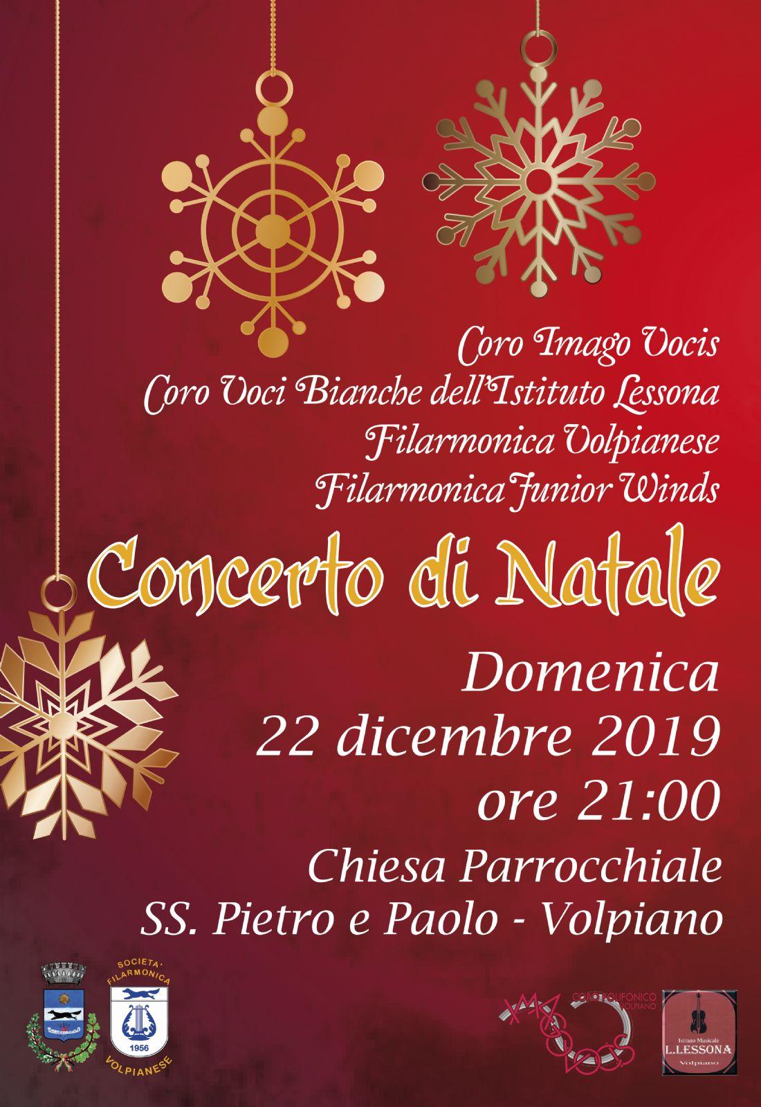 Concerto Di Natale.Concerto Di Natale 2019 Comune Di Volpiano
